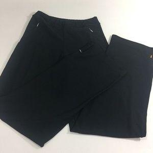 Lucy Tech Black Pants Style 214114 XS Tall Zipper